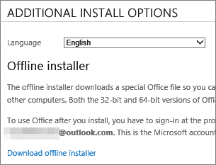 how to download microsoft office 2016 offline installer